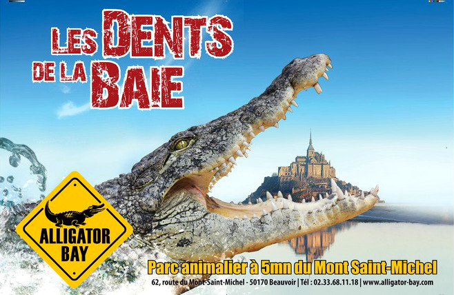 Alligator Bay Reptilarium at Mont Saint Michel